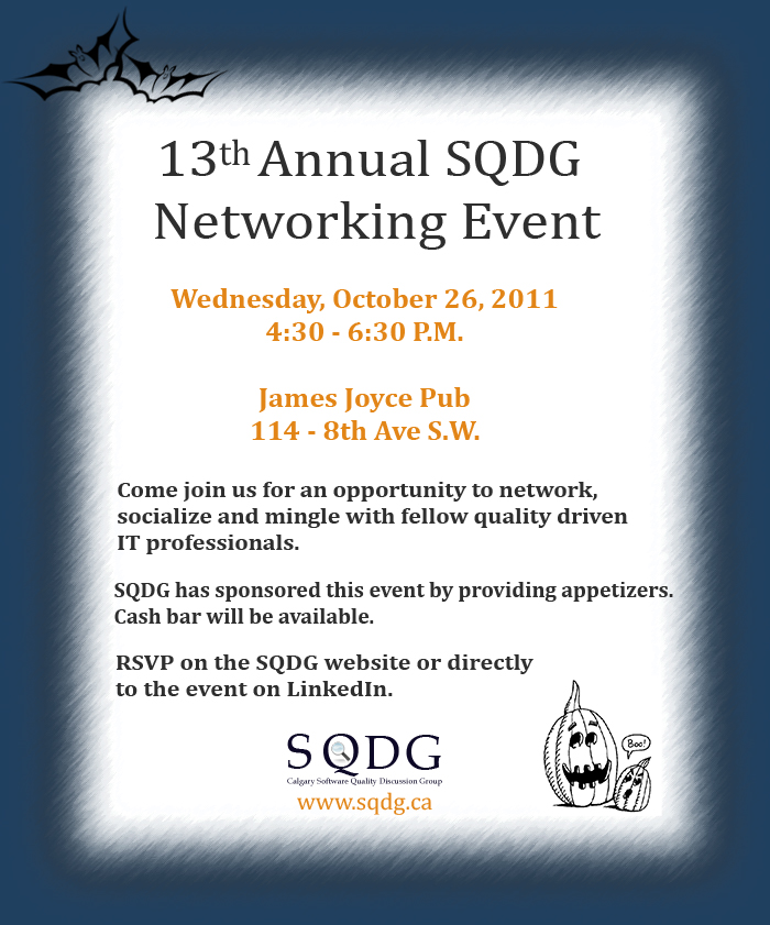 Image for October 26, 2011 Networking Event